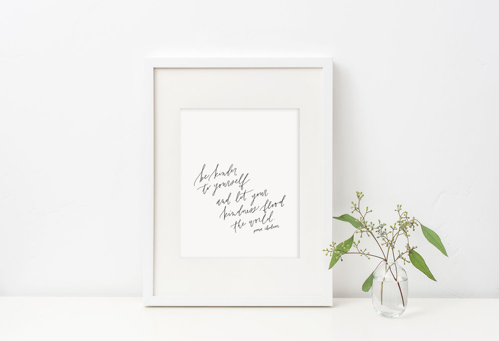 December Free Printable from Jennifer Bianca Calligraphy (jenniferbianca.com)