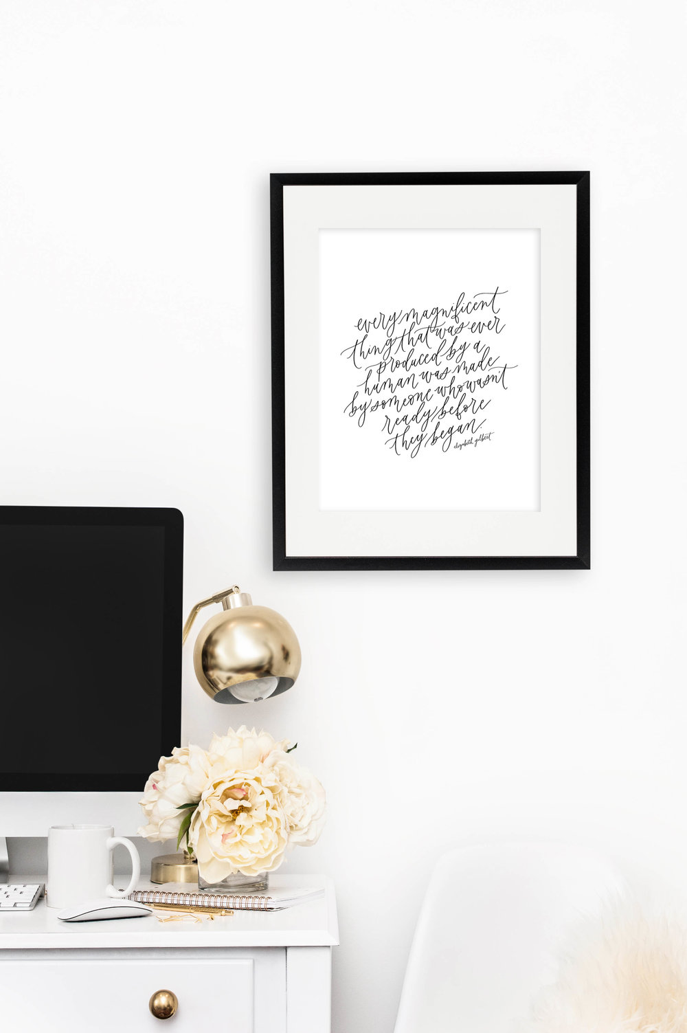 January Free Printable from Jennifer Bianca Calligraphy (jenniferbianca.com)