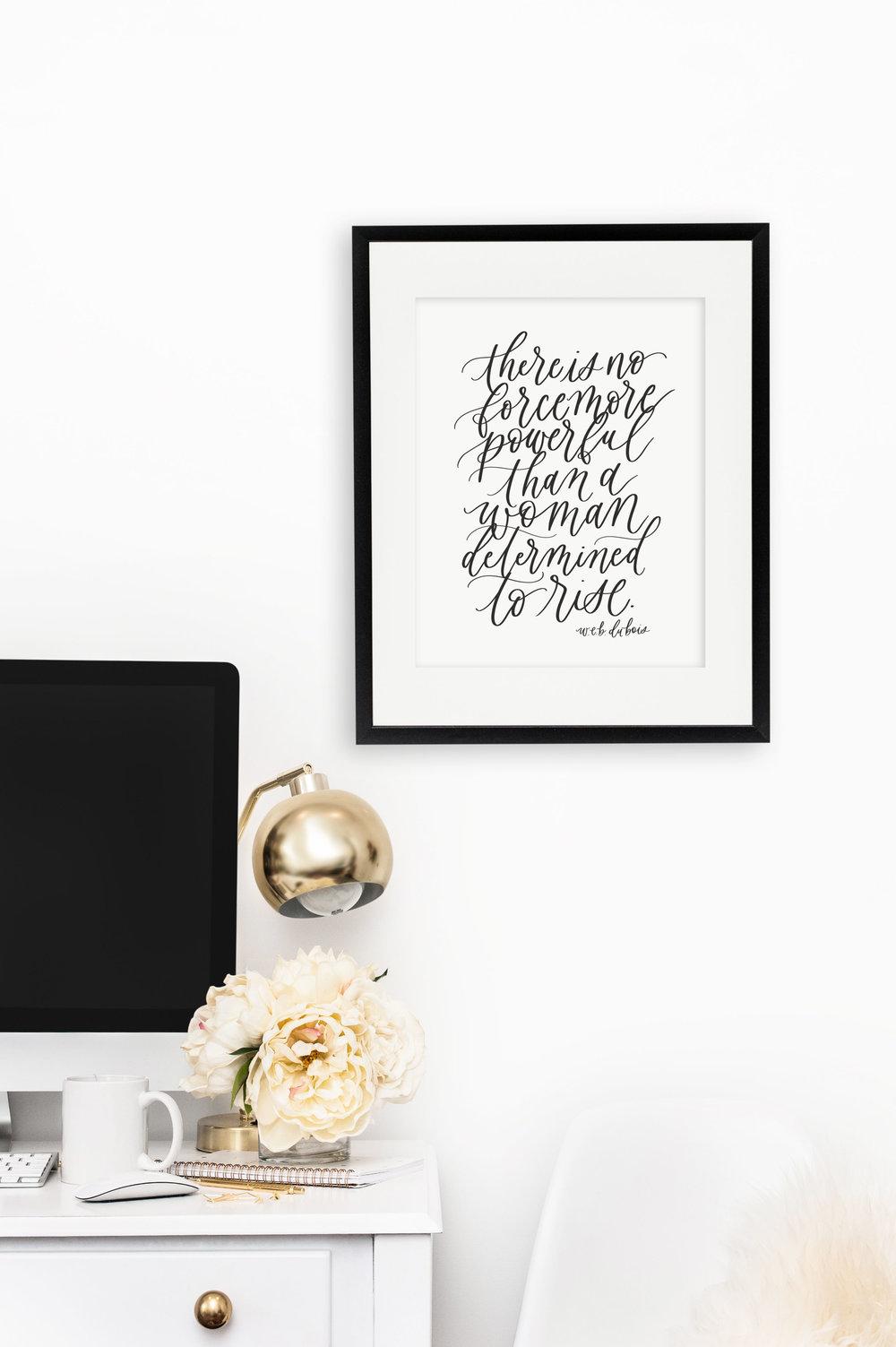 Jennifer Bianca Calligraphy - Prints + Cards at jenniferbianca.com