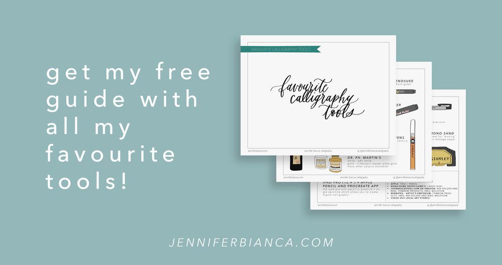 learn wedding calligraphy: practice lettering with free calligraphy guide
