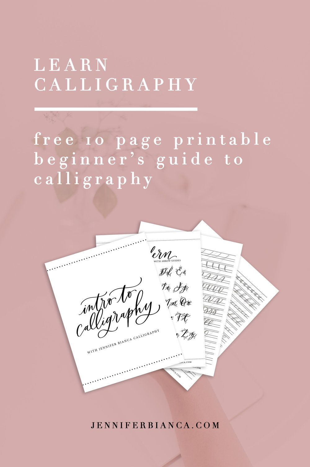 Calligraphy beginner's guide!