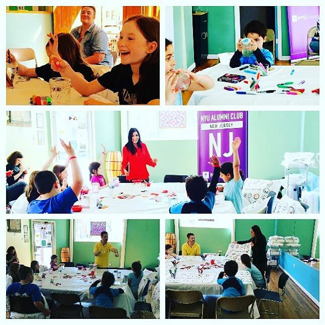It was a privilege to collaborate with @dontfightpillowfight @spiritualkids @danielurbrother for the NYU Alumni Club Mindfulness Event! The children connected so well to all the activities focusing on conflict resolution, tolerance, unity, love, and self-awareness. #mindfulness #nyu #dontfightpillowfight #sfk #wholistictutoring