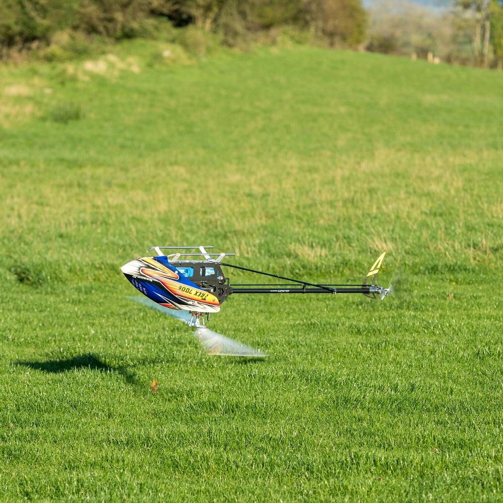 How they cut the grass at Omagh Model Flying Club!