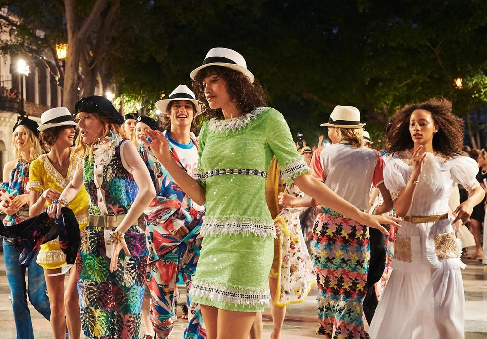 Chanel latest Fashion Show in Cuba