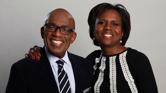 Mr. AL Roker and his wife Debora visiting our store in Napa