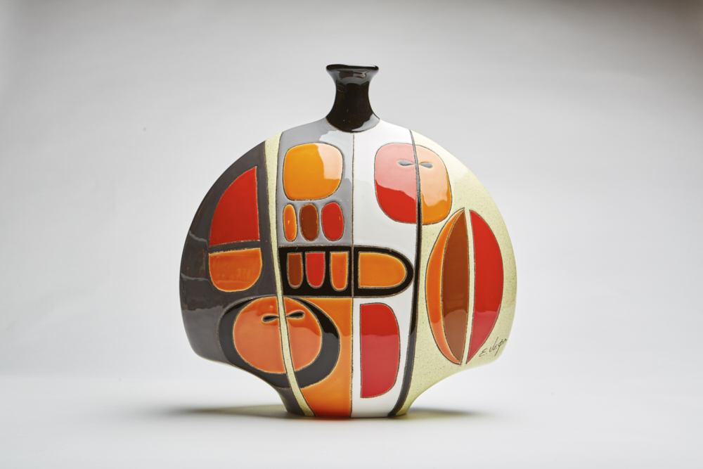 Muralist Eduardo Vega Collection - Fine Artistic Ceramic from Ecuador