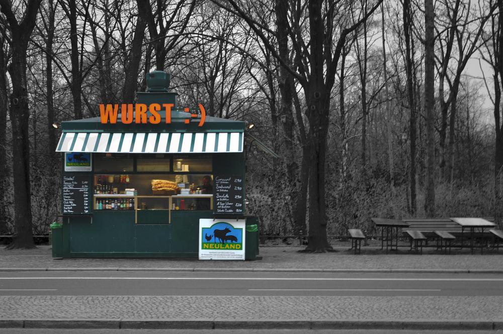 Wurst Stand, Berlin