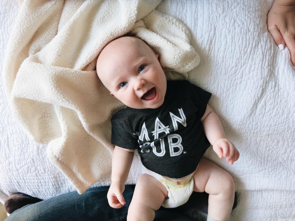 Man Cub Shirt // Loved By Hannah & Eli // www.rachel-at-home.com