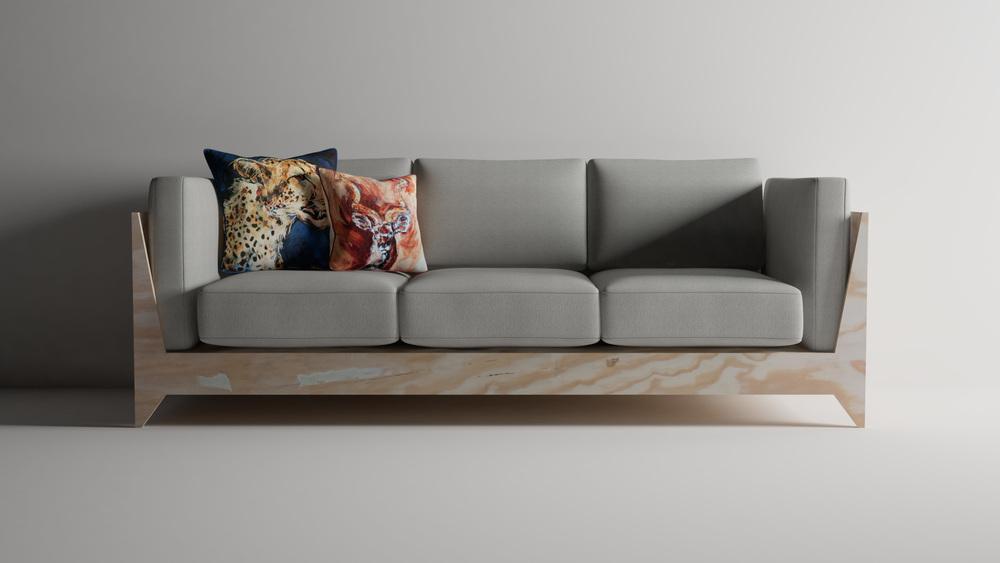 Plywood Sofa Treasure Tolliver