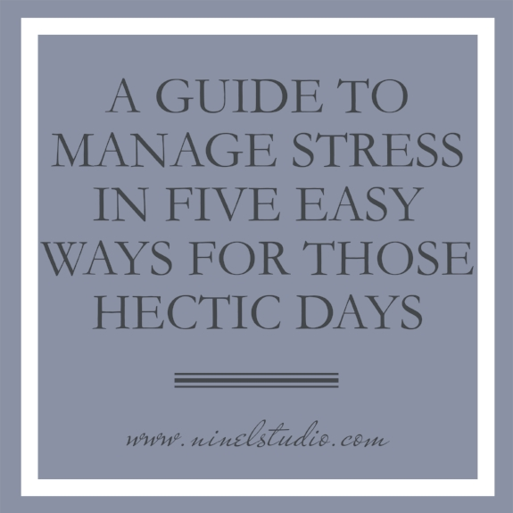 How do I prevent stress?