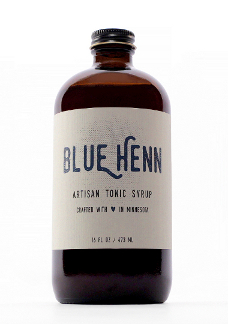 Blue Henn Tonic Bottle