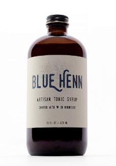 Blue Henn Tonic Bottle