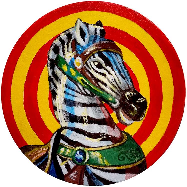 Carousel Zebra - Coaster Show 2017
