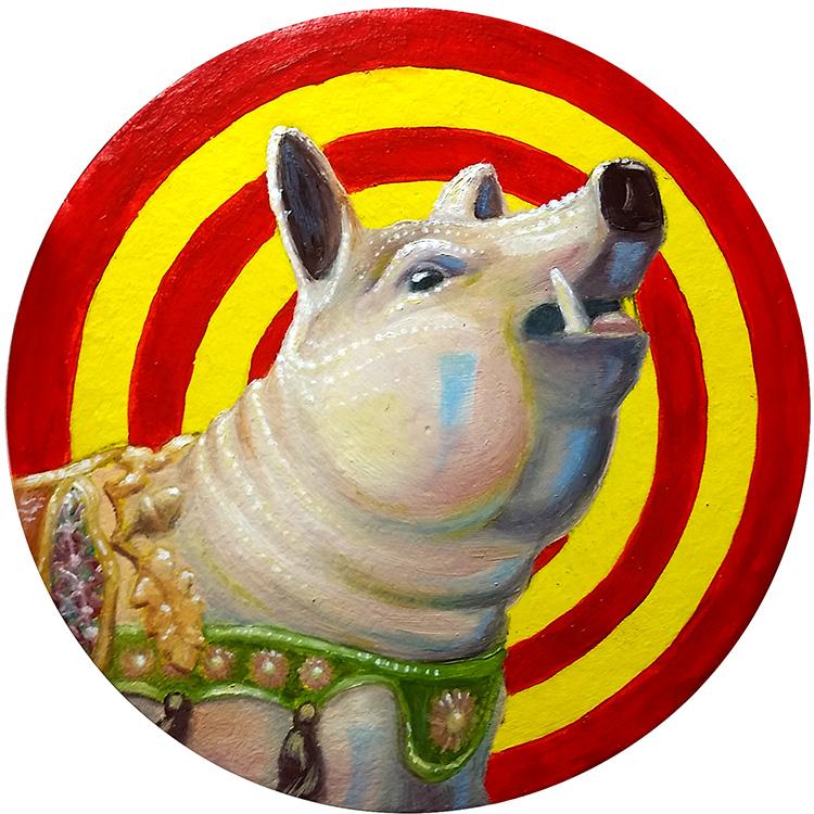 Carousel Pig - Coaster Show 2017