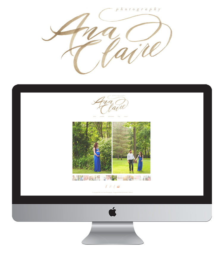 Ana Claire Website + Logo by Meredith C Bullock -1