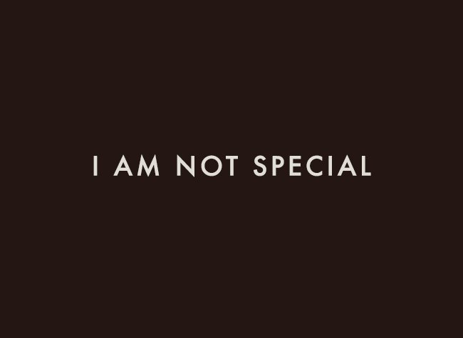 i-am-not-special