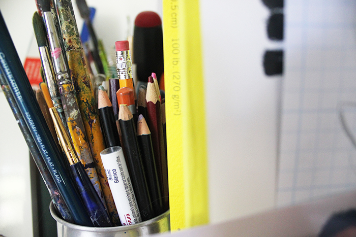 My-Home-Studio-Pencils-Brushes-Art
