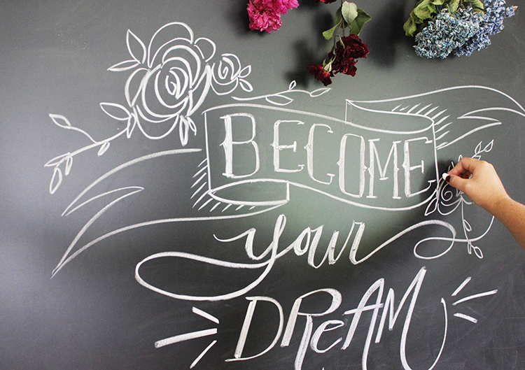 Chalk-Lettering-Become-Your-Dream-SM-1