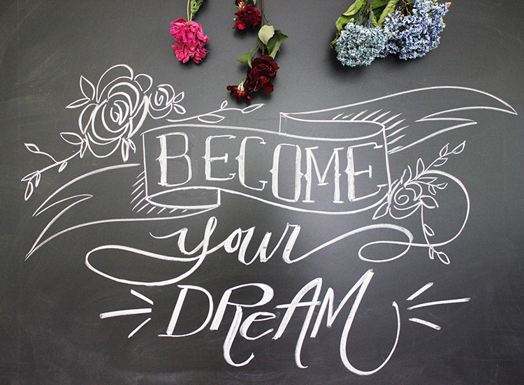 Chalk-Lettering-Become-Your-Dream-SM