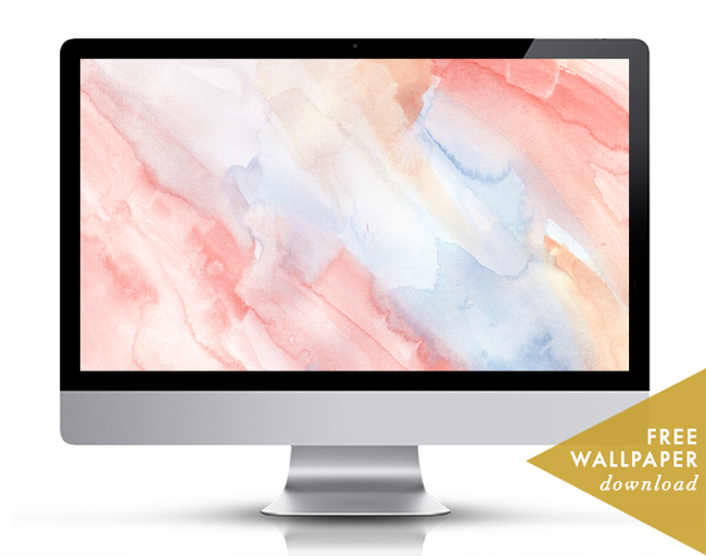 Watercolor Wash Free Wallpaper Download Desktop Art