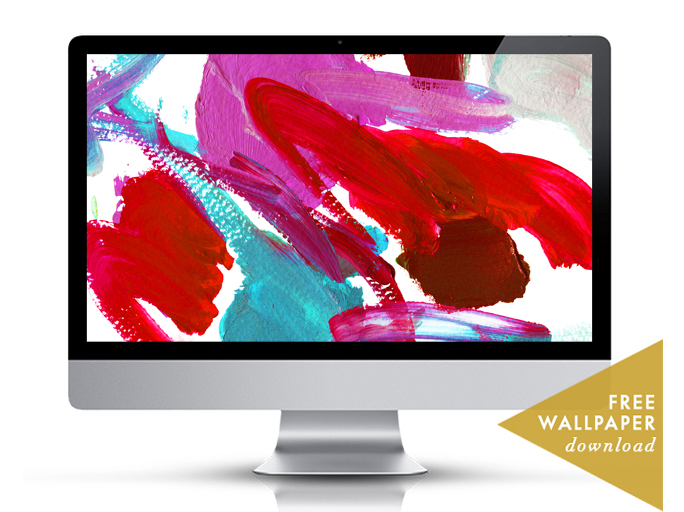 Palette Wallpaper Meredith Bullock