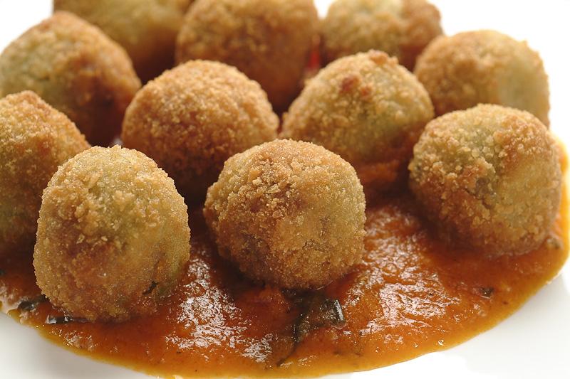 arancini balls
