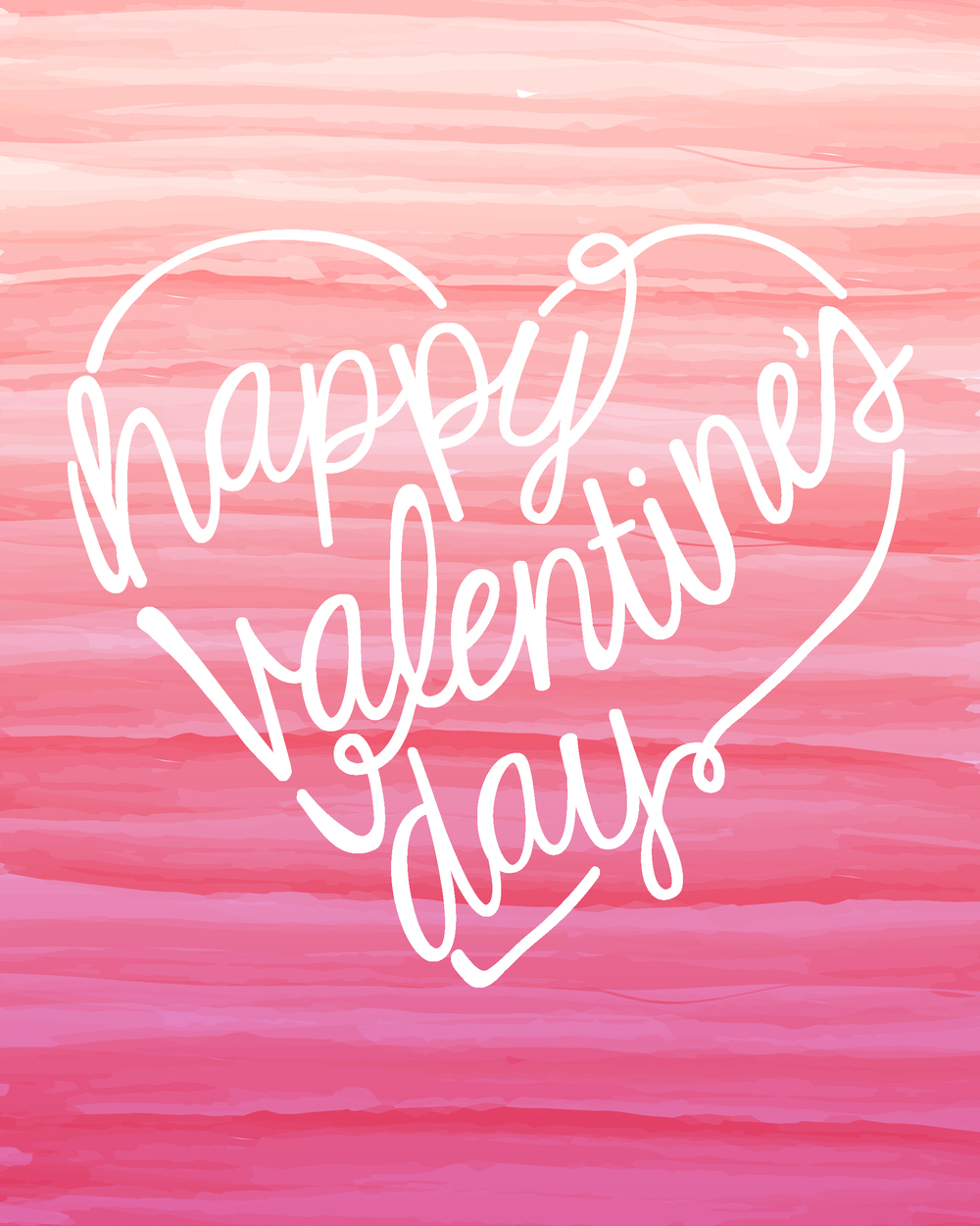 Valentine's Day printable via We Heart Parties