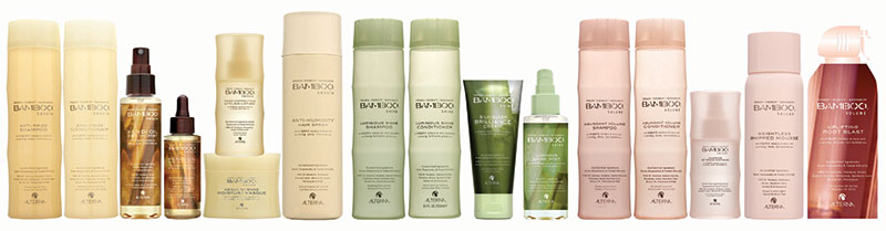 Bamboo Haircare Products