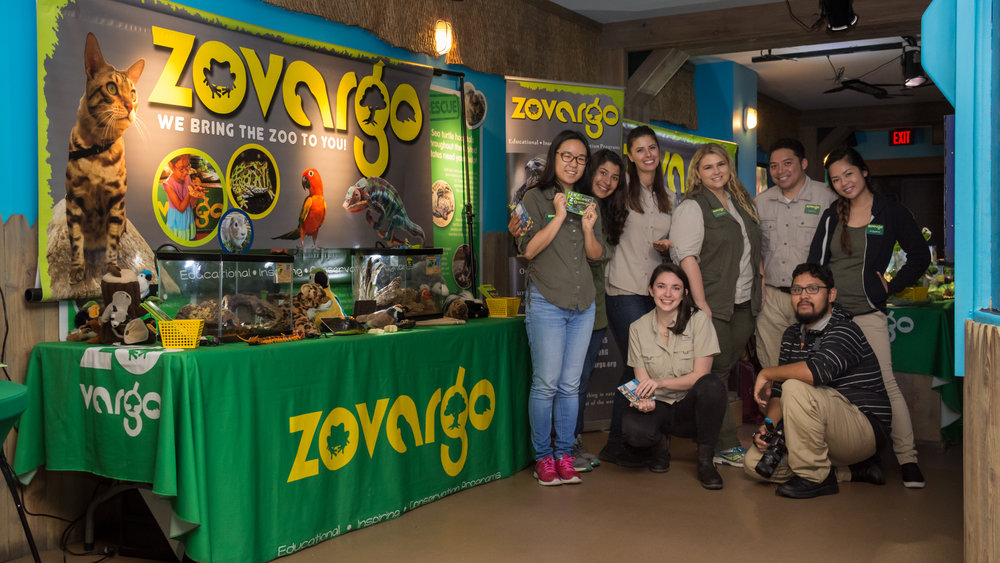 Team Zovargo at Underwater Parks Day, sealife Aquarium, San DIego, ca