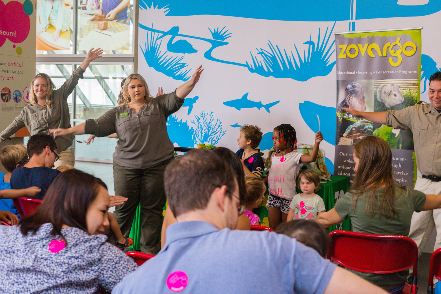 Community partner Zovargo at the New Children's Museum