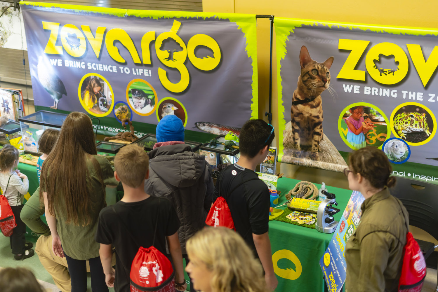 Community partner Zovargo promotes STEM in Your Backyard