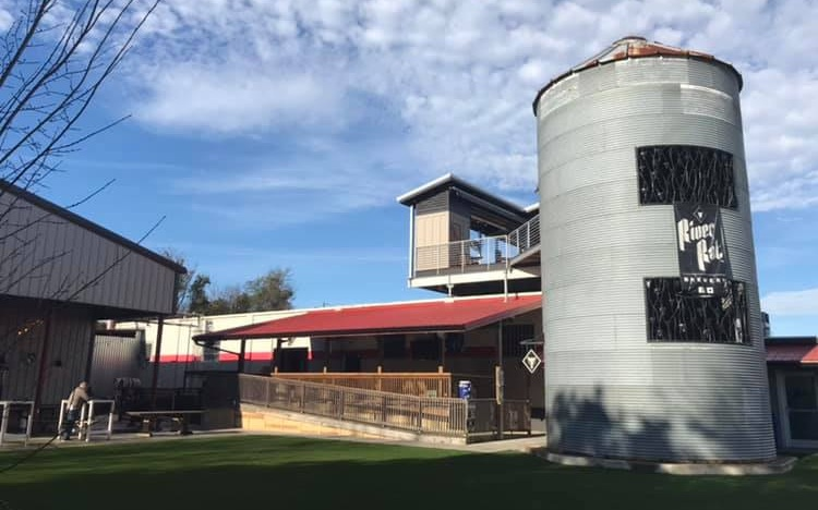Photo of River Rat's outdoor set-up, courtesy the brewery's Facebook page.