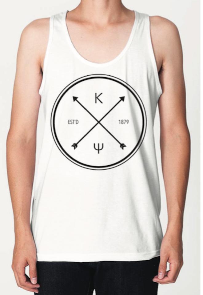 KY White Hipster Circle Tank - $17.00