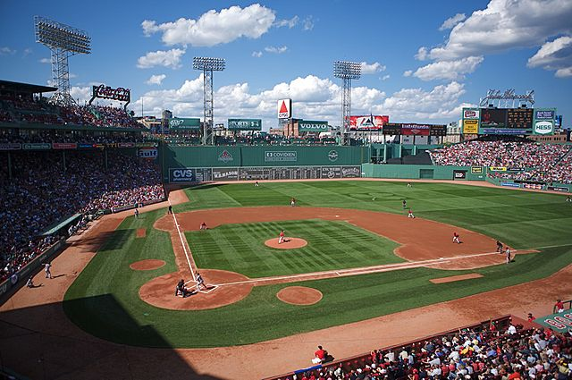 """""""Fenway from Legend's Box"""" by User Jared Vincent on Flickr - Originally posted to Flickr as """"Fenway-from Legend's Box"""". Licensed under CC BY 2.0 via Wikimedia Commons - http://commons.wikimedia.org/wiki/File:Fenway_from_Legend%27s_Box.jpg#/media/File:Fenway_from_Legend%27s_Box.jpg"""