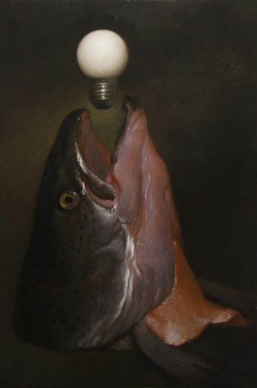 Fish with Light Bulb, 2013