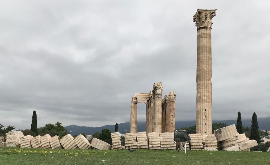 Stone columns fall. Bone columns just get sore.