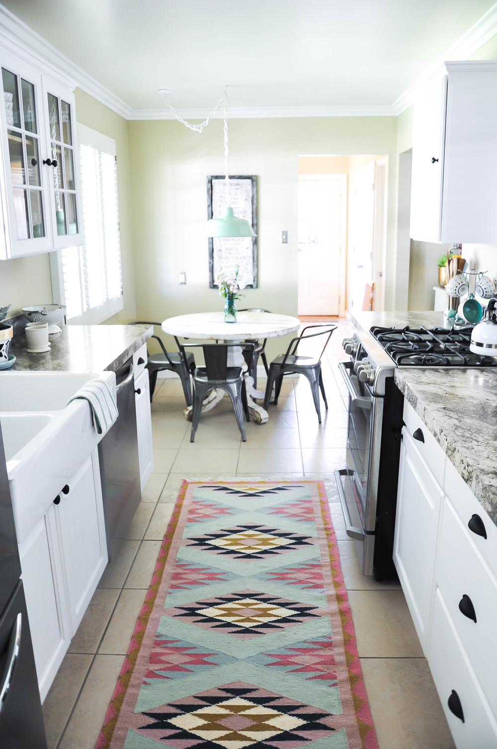 view of remodeled kitchen