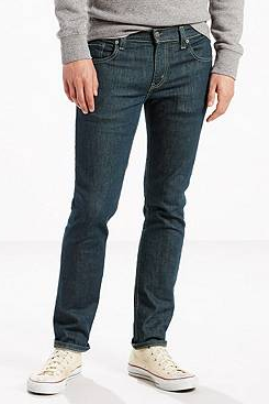 Dark denim men's jeans