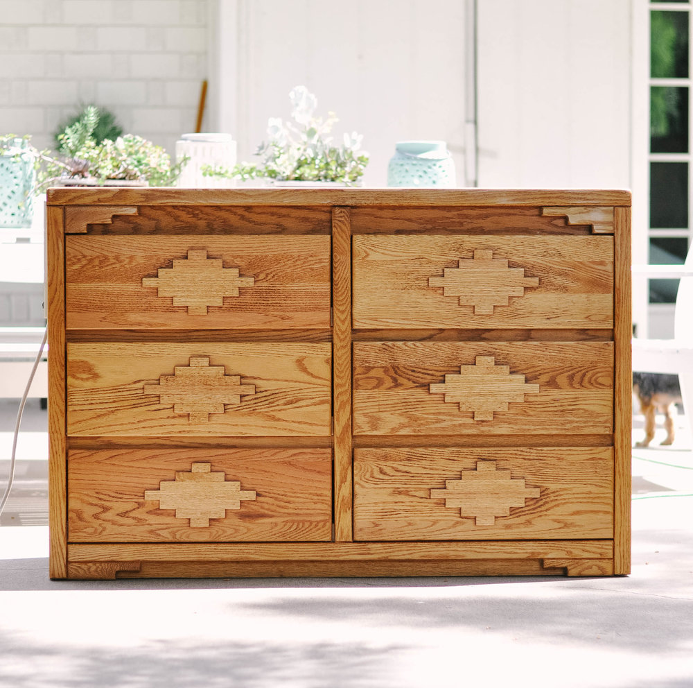 medium wooden dresser