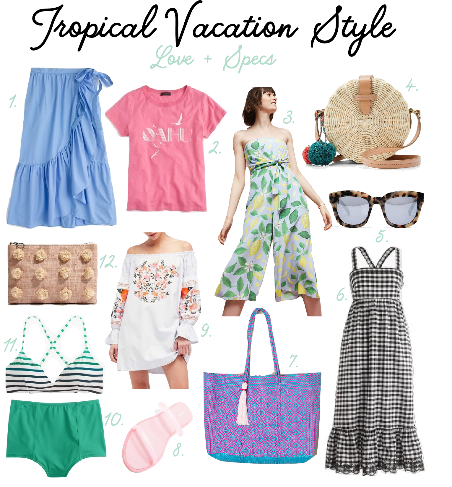 Tropical Vacation Dress
