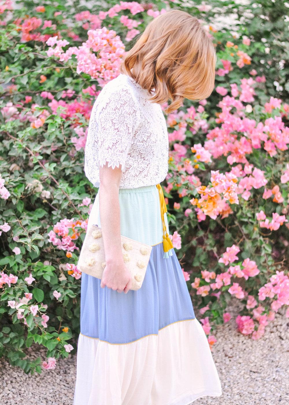 Pastel Loft Skirt