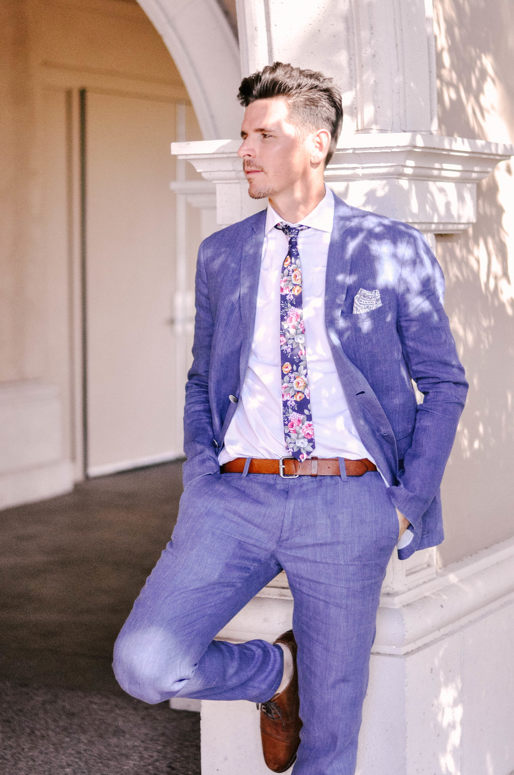 Mens Fall and Winter Wedding Guest Outfit