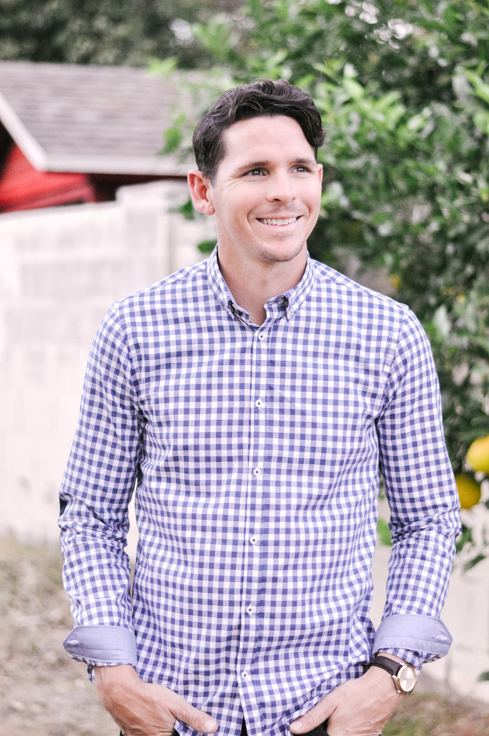 Mens Gingham Zara Shirt