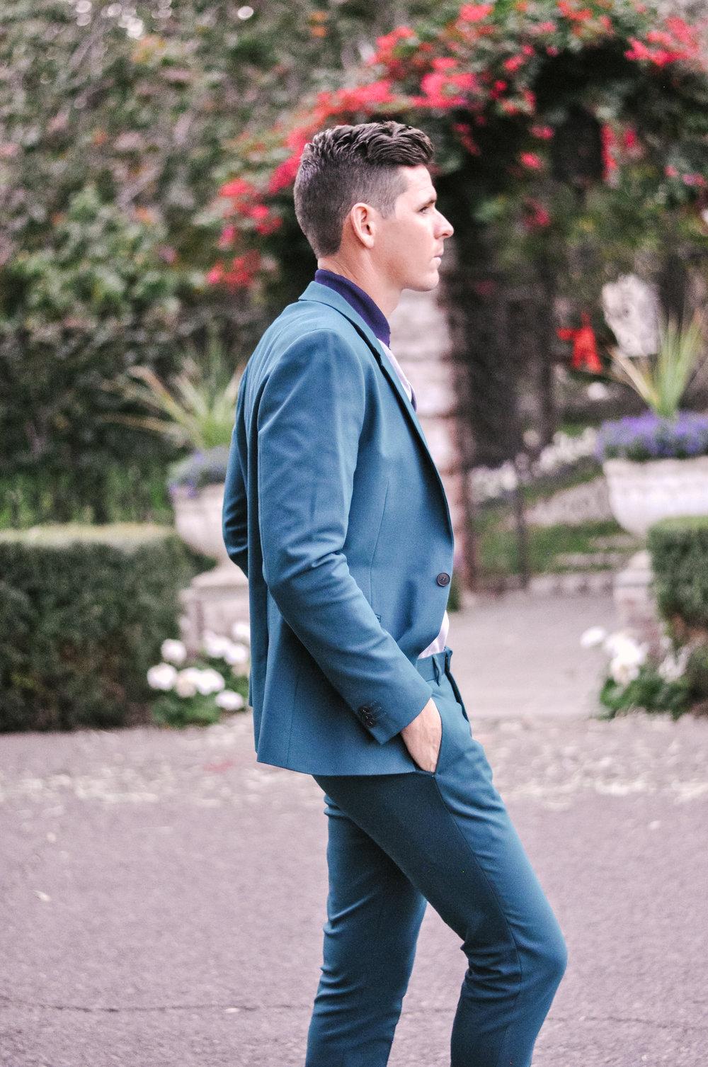 Men's Ultra Skinny Topman Suit