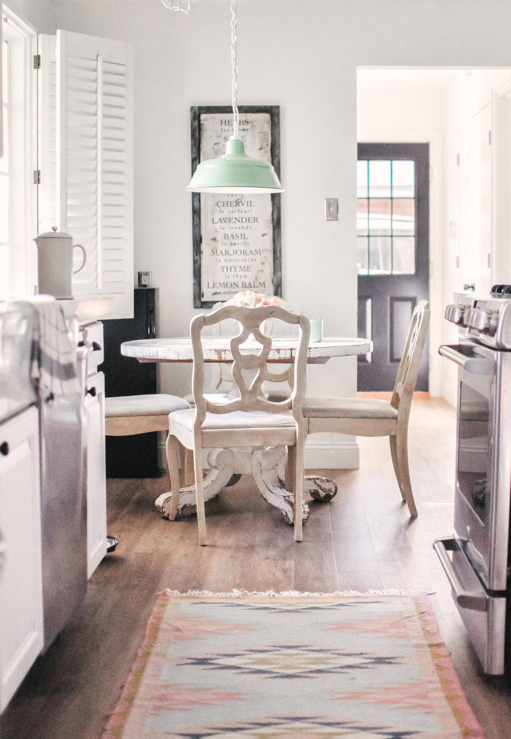 Colorful Modern Farmhouse Kitchen