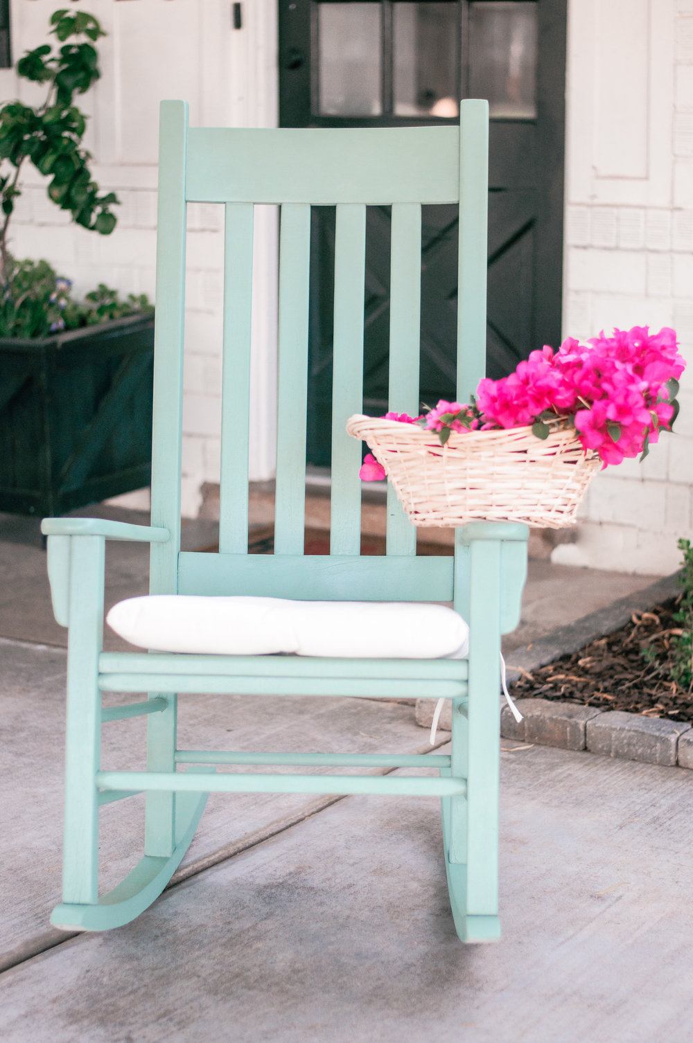 DIY Front Porch Rocking Chair Makeover