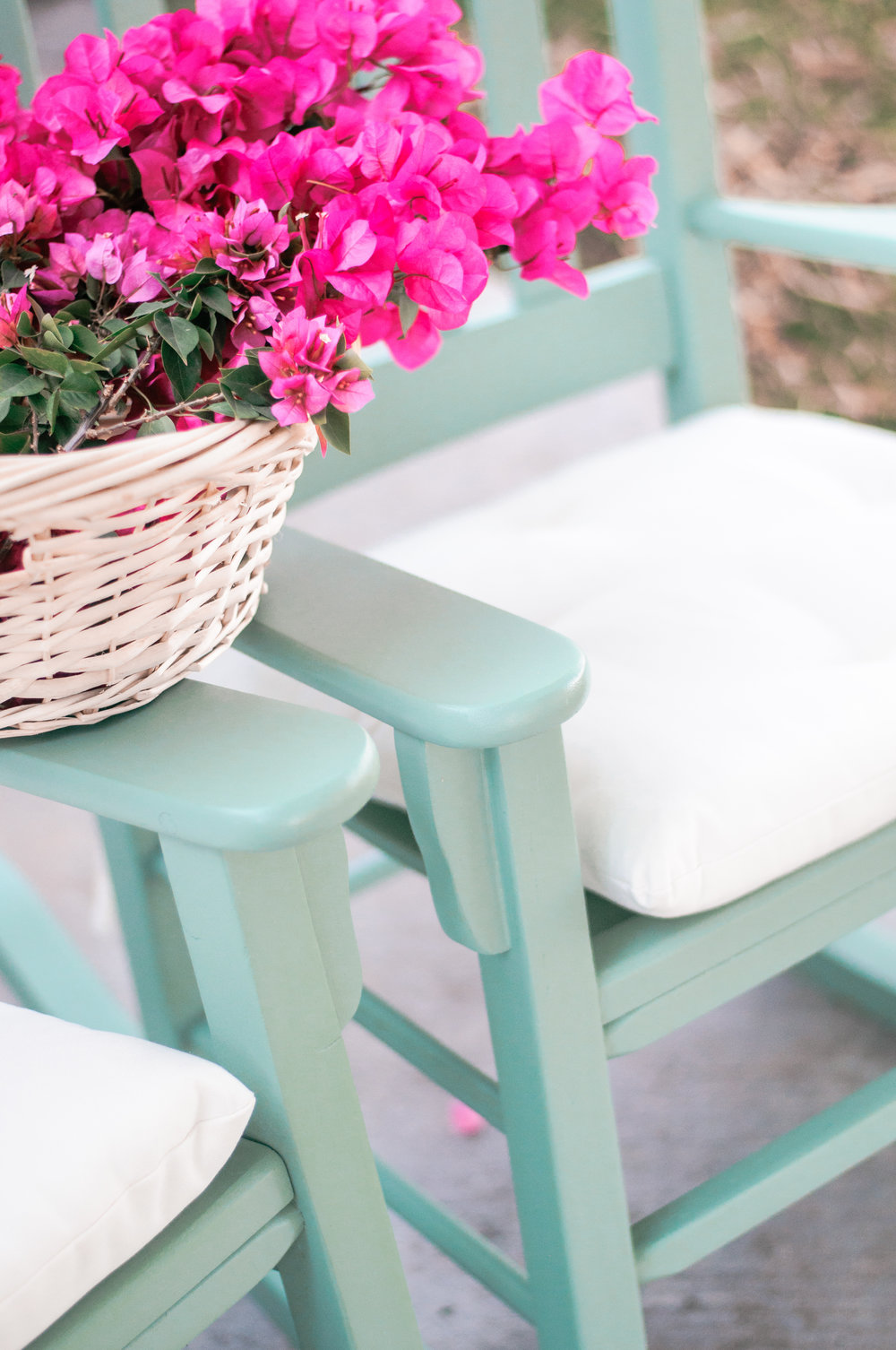 DIY Painted Rocking Chairs