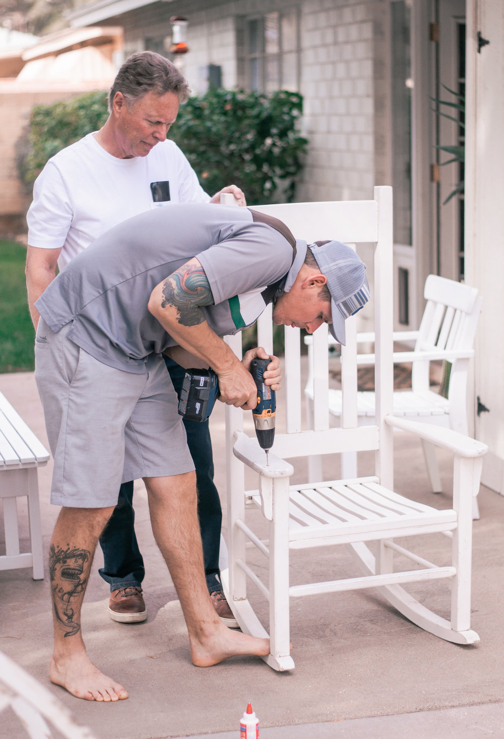DIY Wooden Rocking Chair Makeover for Porch How To