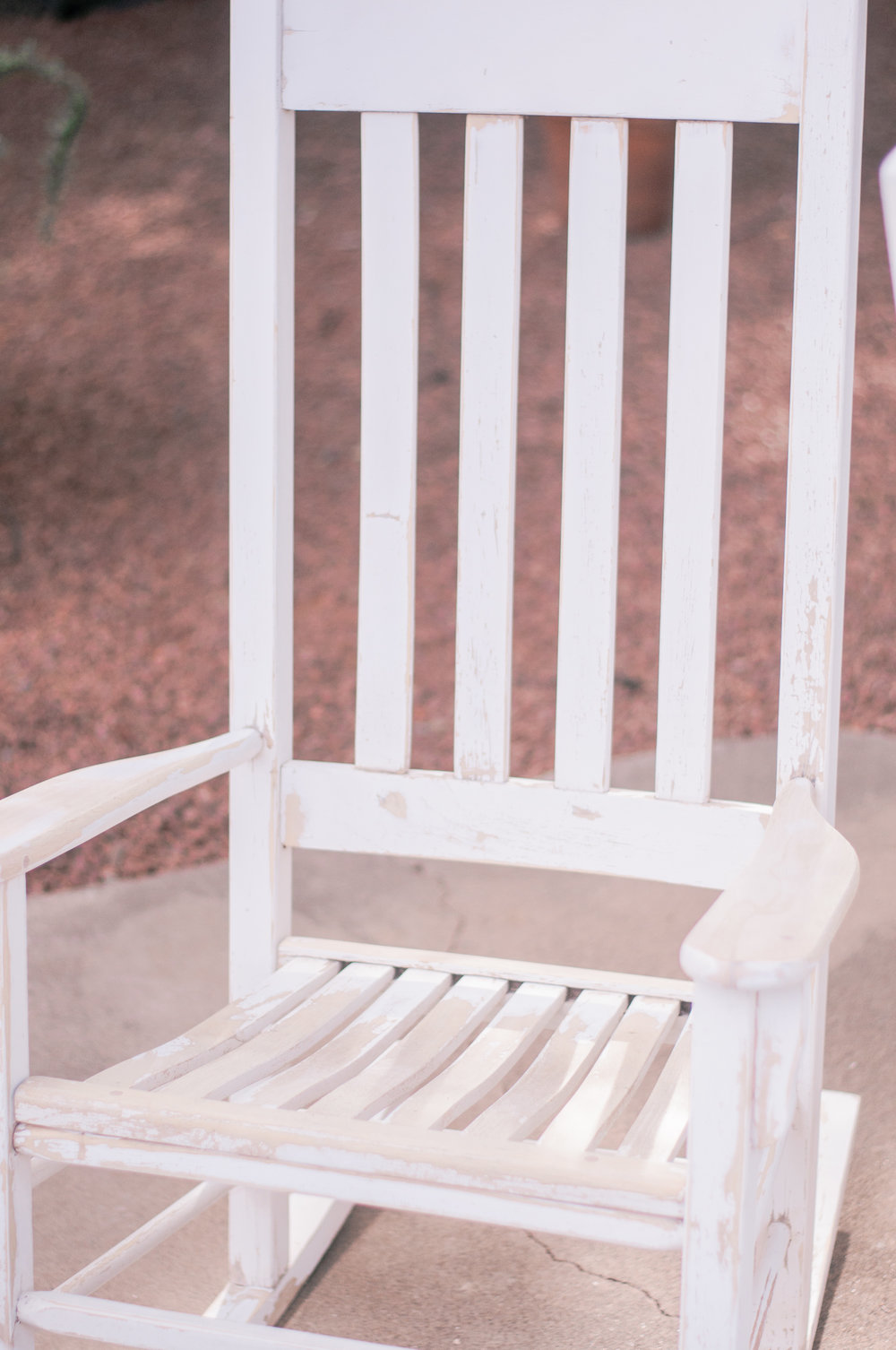 DIY Wooden Vintage Rocking Chair Makeover