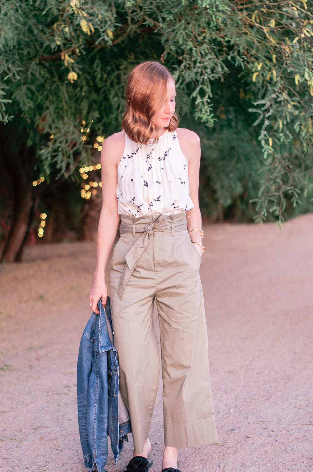 How To Wear Casual Cropped Wide Leg Pants